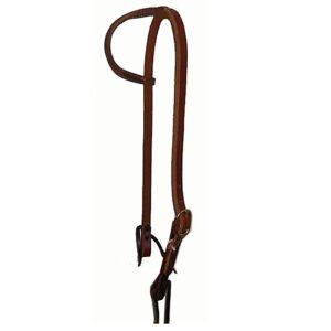 Sliding Ear Harness Leather Headstall HSMC19