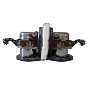 Cactus Spur Salt & Pepper Shakers GI232TQC