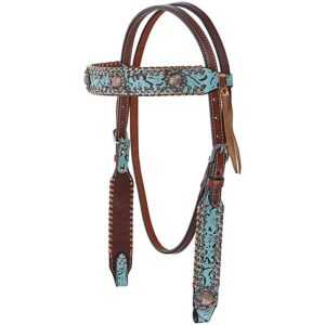 Exotic Turquoise Browband HSX0134
