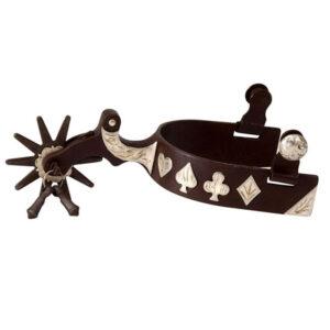 Antique Brown Gambler Spur Men's GS258446