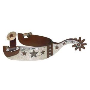 Antique Brown Spurs Cut-Out Stars GS258