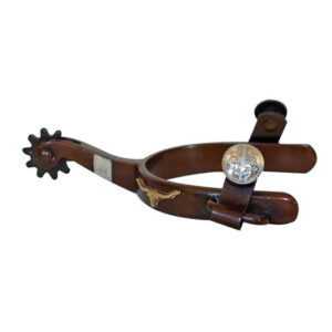 Antique Brown Youth Spurs GS9709