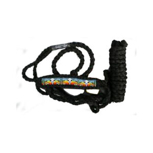 Beaded Mule Tape Halter with Lead H9775242