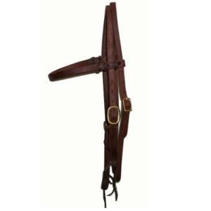 Harness Leather Browband Headstall HSMC21