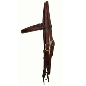 Harness Leather Browband Headstall HSMC22