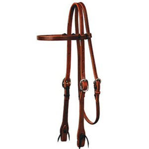 Harness Leather Browband Headstall HSMC85