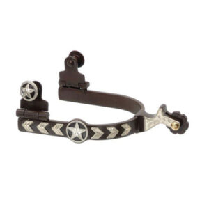 Kelly Ladies Silver Star Spur with Star Arrow GS9706L