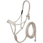 Mule Tape Halter with Lead H9610WH