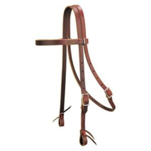 Pony Leather Browband Headstall HSMC40