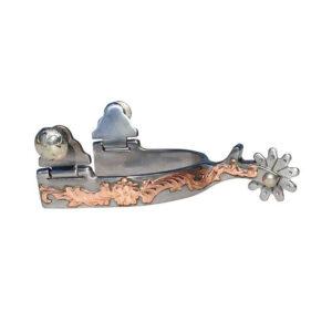 Professional's Choice Spur Kids Dot 10 Rowel Decorative Copper Detail GSPCSP112