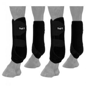 Sport Boots Black 4 Pack Boots L6418SBK