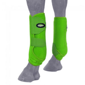 Sport Boots Lime 2 Pack Front Boots L6418FL