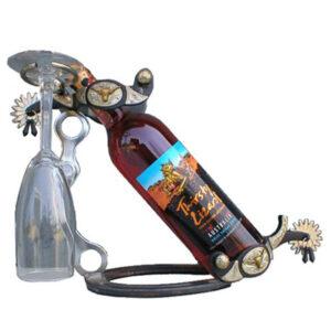 Western Spur Wine Holder GI233FLH