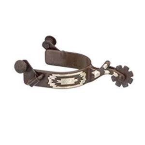 Youth Spurs Antique Brown Southwest Navajo GS259620