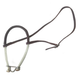 Rope Noseband Leather Wrapped TMC11
