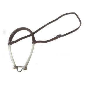 Rope Noseband Flat Leather TMC13